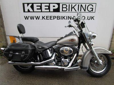 Harley-Davidson Softail Custom Cruiser 1600 FLSTC Heritage
