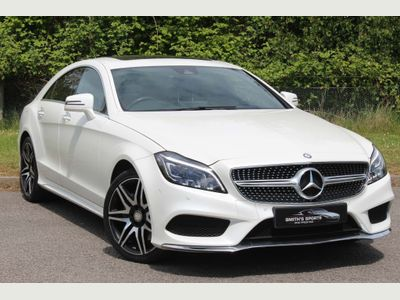 Mercedes-Benz CLS Coupe 3.5 CLS400 V6 AMG Line 7G-Tronic+ (s/s) 4dr