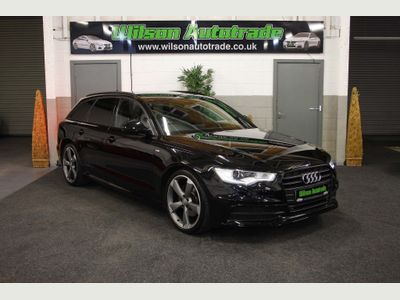 Audi A6 Avant Estate 2.0 TDI ultra Black Edition S Tronic 5dr