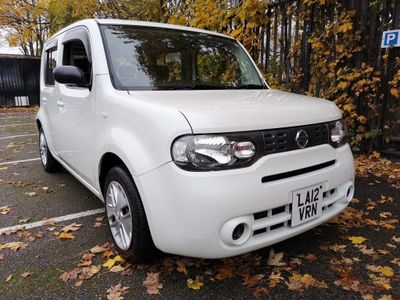 Nissan Cube Hatchback 1.5 Automatic Metallic White Low Mileage