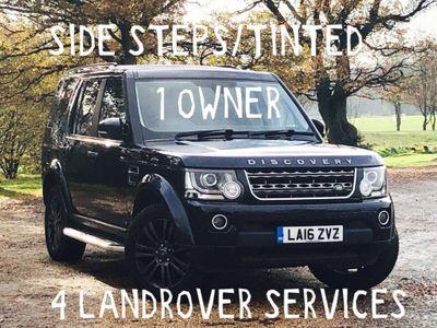 Land Rover Discovery 4 SUV 3.0 SD V6 Graphite (s/s) 5dr