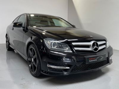 Mercedes-Benz C Class Coupe 2.1 C250 CDI BlueEFFICIENCY AMG Sport Plus 7G-Tronic Plus 2dr (Map Pilot)