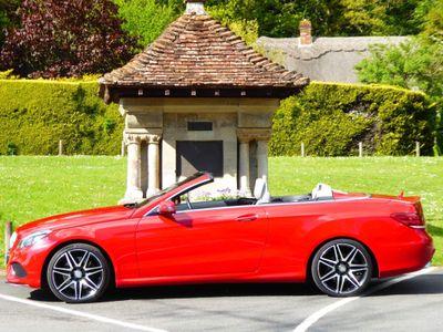 Mercedes-Benz E Class Convertible 3.0 E400 AMG Line Cabriolet 7G-Tronic Plus (s/s) 2dr
