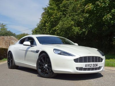 Aston Martin Rapide Saloon 6.0 Luxury Edition Touchtronic 4dr