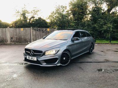 Mercedes-Benz CLA Class Estate 2.1 CLA220 AMG Sport Shooting Brake 7G-DCT 4MATIC (s/s) 5dr