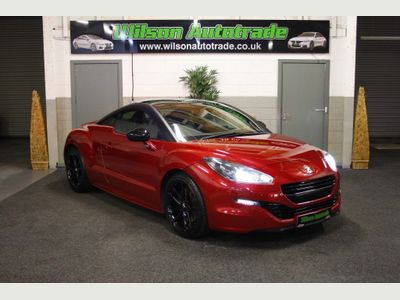 Peugeot RCZ Coupe 2.0 HDi Red Carbon 2dr