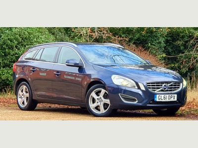 Volvo V60 Estate 2.4 D5 SE Lux Geartronic AWD 5dr