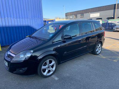 Vauxhall Zafira MPV 1.8 i VVT 16v SRi 5dr