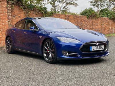 Tesla Model S Saloon E P90D CVT 4x4 5dr (Nav)