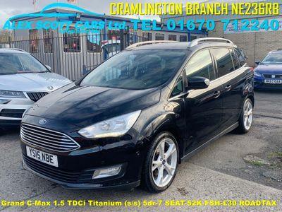 Ford Grand C-Max MPV 1.5 TDCi Titanium (s/s) 5dr