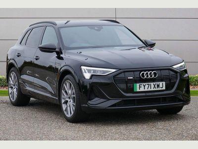 Audi e-tron SUV 50 Black Edition Auto quattro 5dr 71.2kWh