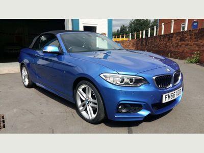 BMW 2 Series Convertible 2.0 218d M Sport (s/s) 2dr
