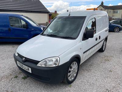 Vauxhall Combo Panel Van 1.3 CDTi 2000 16v Panel Van Easytronic 4dr