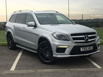 MERCEDES-BENZ GL CLASS SUV 5.5 GL63 AMG Speedshift Plus 7G-Tronic 4MATIC 5dr