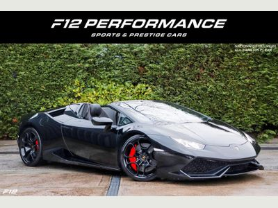 Lamborghini Huracan Convertible 5.2 V10 LP 610-4 Spyder LDF 4WD (s/s) 2dr
