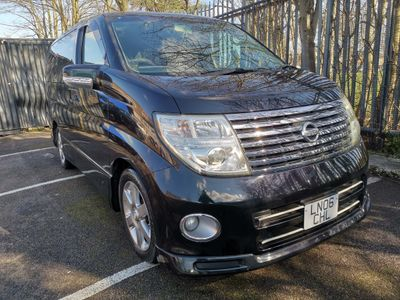 Nissan Elgrand MPV 2.5 Highway Star 8 Seater Choice Of 3!
