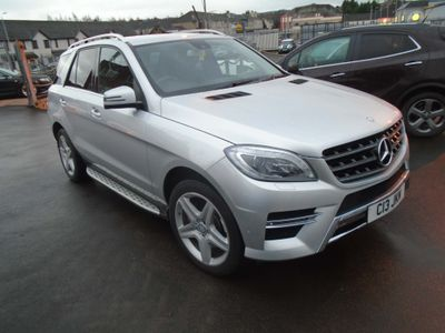Mercedes-Benz M Class SUV 3.0 ML350 CDI BlueTEC AMG Line 7G-Tronic Plus 4MATIC 5dr