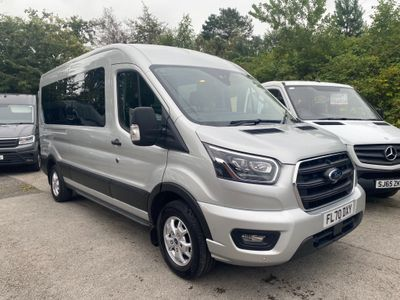Ford Transit Minibus 2.0 410 EcoBlue Limited RWD L3 H3 EU6 (s/s) 5dr (15 Seat)