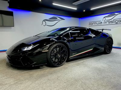 Lamborghini Huracan Coupe 5.2 V10 LP 640-4 Performante LDF 4WD (s/s) 2dr