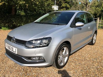 Volkswagen Polo Hatchback 1.0 TSI BlueMotion Tech SEL DSG (s/s) 3dr
