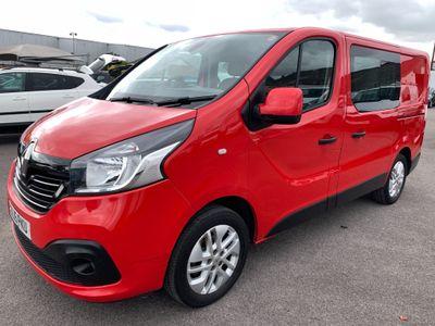 Renault Trafic Combi Van 1.6 dCi ENERGY 27 Sport Crew Van (s/s) 5dr