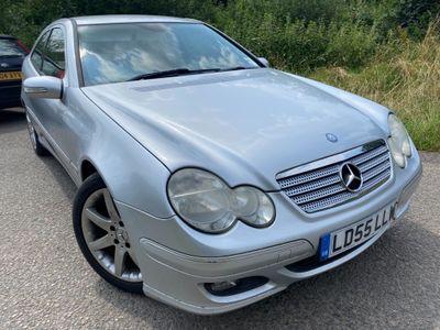 Mercedes-Benz C Class Coupe 1.8 C200 Kompressor SE 2dr