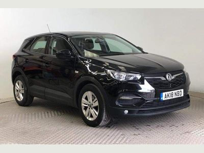 Vauxhall Grandland X SUV 1.6 Turbo D BlueInjection SE Auto (s/s) 5dr