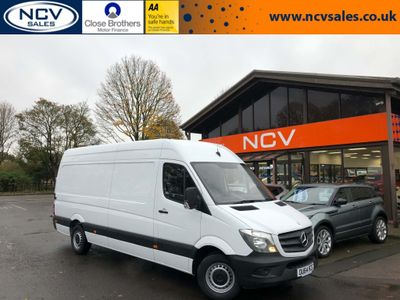 Mercedes-Benz Sprinter Panel Van 2.1 CDI 313 Extra High Roof Panel Van 4dr (LWB)