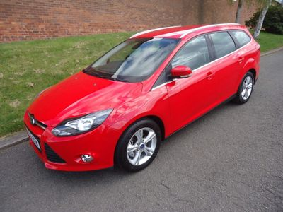 Ford Focus Estate 1.6 Ti-VCT Zetec 5dr