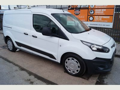 FORD TRANSIT CONNECT Panel Van 1.6TDCi L2 LWB VAN (AIR-CON)
