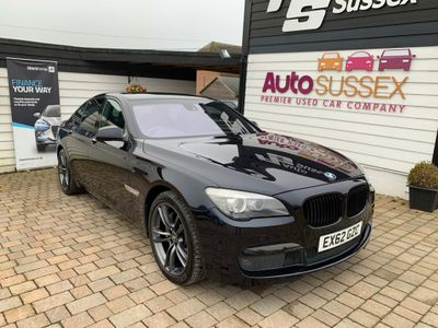 BMW 7 Series Saloon 3.0 740d M Sport 4dr