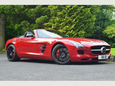 Mercedes-Benz SLS Convertible 6.2 AMG Roadster 2dr