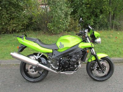 Triumph Speed Four Super Sports 600