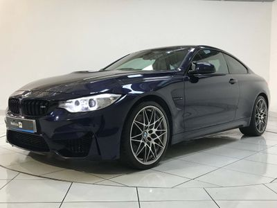 BMW M4 Coupe 3.0 BiTurbo Competition Pack (s/s) 2dr