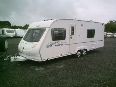 Swift ACE JUBULEE Tourer 2007 4 BERTH FIXED BED