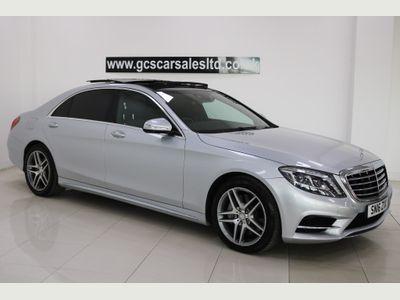 Mercedes-Benz S Class Saloon 3.0 S350L d AMG Line (Executive) (s/s) 4dr