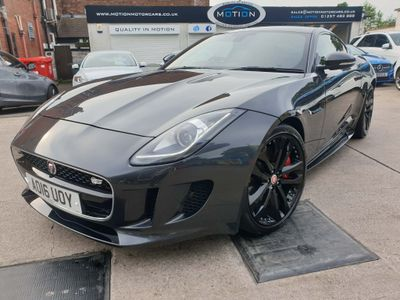 Jaguar F-Type Coupe 3.0 V6 Supercharged S 2dr