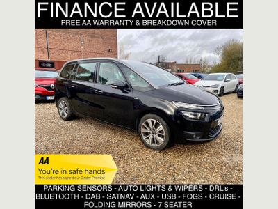 Citroen Grand C4 Picasso MPV 2.0 BlueHDi Exclusive (s/s) 5dr