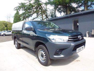 Toyota Hilux Pickup 2.4 D-4D Active 4WD EU6 2dr