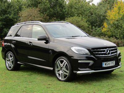 Mercedes-Benz M Class SUV 5.5 ML63 AMG Speedshift Plus 7G-Tronic 5dr