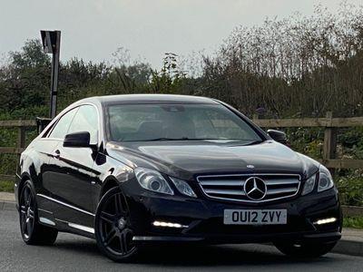 Mercedes-Benz E Class Coupe 3.0 E350 CDI BlueEFFICIENCY Sport G-Tronic 2dr