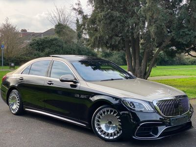 Mercedes-Benz Maybach S Class Saloon 6.0 S650 V12 Maybach G-Tronic+ (s/s) 4dr