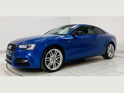 Audi A5 Coupe 2.0 TFSI Black Edition Plus quattro (s/s) 2dr