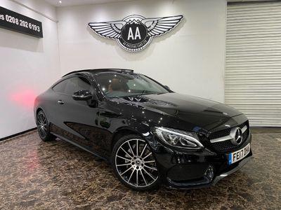Mercedes-Benz C Class Coupe 2.0 C200 AMG Line (Premium Plus) G-Tronic+ (s/s) 2dr