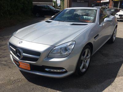 Mercedes-Benz SLK Convertible 2.1 SLK250 CDI BlueEFFICIENCY 7G-Tronic Plus 2dr