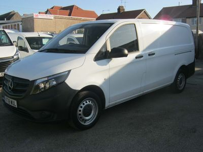 MERCEDES-BENZ VITO Panel Van 114 2.1 CDi BLUETEC 2.8T LONG WHEELBASE
