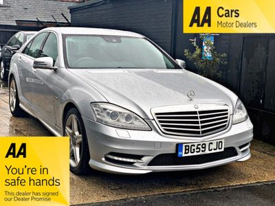 Mercedes-Benz S Class Saloon 3.0 S350 CDI BlueEFFICIENCY 7G-Tronic 4dr