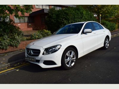 Mercedes-Benz C Class Saloon 2.0 C200 SE Executive Edition 7G-Tronic+ (s/s) 4dr