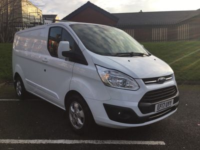 Ford Transit Custom Panel Van Limited