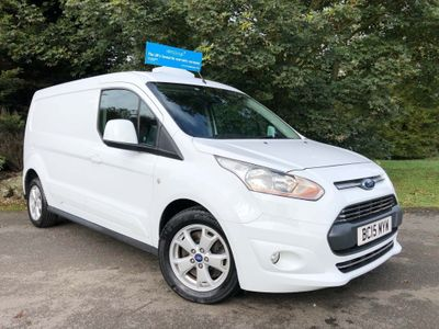 FORD TRANSIT CONNECT Panel Van 1.6 TDCi 240 L2 Limited 4dr